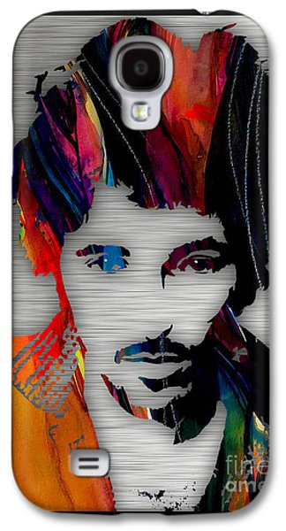 Bruce Springsteen Galaxy S4 Cases - Bruce Springsteen Collection Galaxy S4 Case by Marvin Blaine