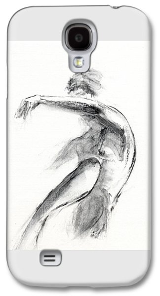 Figures Mixed Media Galaxy S4 Cases - RCNpaintings.com Galaxy S4 Case by Chris N Rohrbach