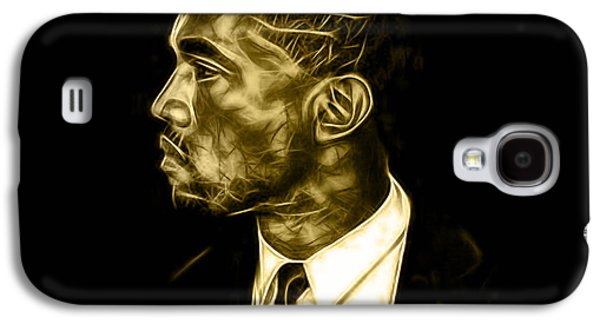 Kanye West Galaxy S4 Cases - Kanye West Collection Galaxy S4 Case by Marvin Blaine