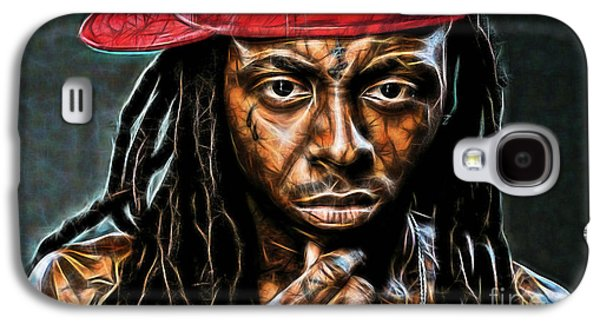Lil Wayne Galaxy S4 Cases - Lil Wayne Collection Galaxy S4 Case by Marvin Blaine