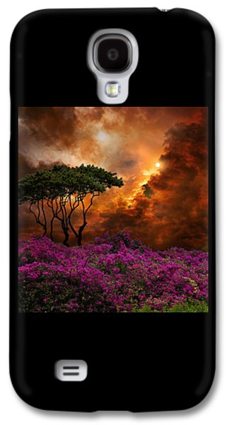 Green Galaxy S4 Cases - 3957 Galaxy S4 Case by Peter Holme III