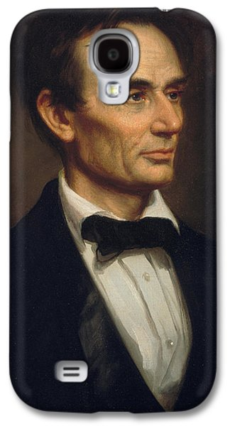 Abraham Lincoln Galaxy S4 Case by George Peter Alexander Healy