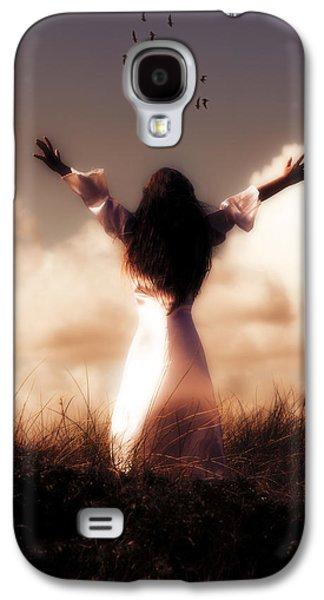 Girl Galaxy S4 Cases - Angel Galaxy S4 Case by Joana Kruse