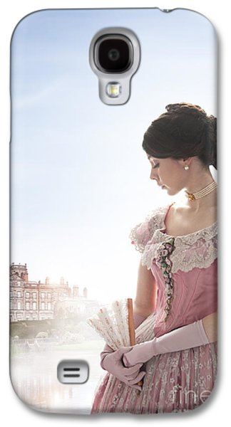 Contemplative Photographs Galaxy S4 Cases - Beautiful Victorian Woman  Galaxy S4 Case by Lee Avison