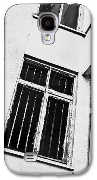 Anti Galaxy S4 Cases - Broken window Galaxy S4 Case by Tom Gowanlock