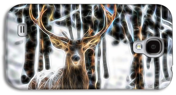 Deer Galaxy S4 Cases - Deer Galaxy S4 Case by Marvin Blaine