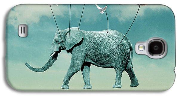 Elephant Galaxy S4 Case by Mark Ashkenazi