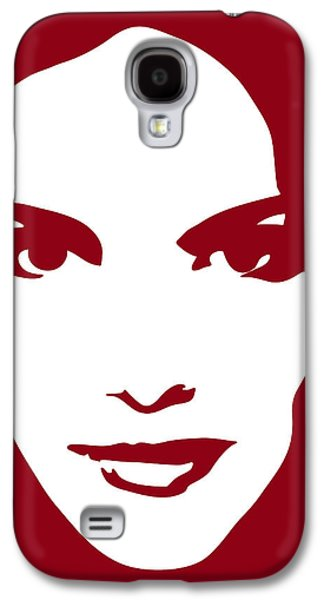 Head Drawings Galaxy S4 Cases - Illustration of a woman in fashion Galaxy S4 Case by Frank Tschakert