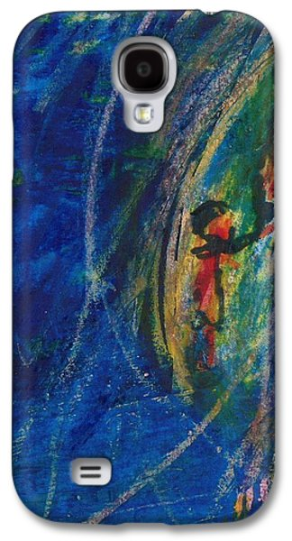 First Lady Pastels Galaxy S4 Cases - Jackie in Italy Galaxy S4 Case by Alen Salerian