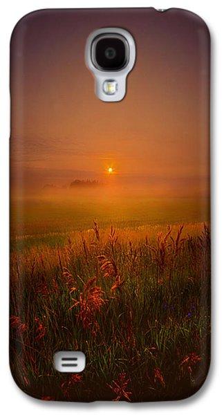 Fog Mist Galaxy S4 Cases - Peace Of Mind Galaxy S4 Case by Phil Koch