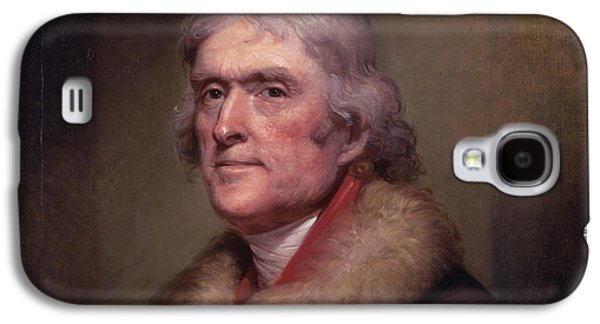 President Thomas Jefferson Galaxy S4 Case by War Is Hell Store
