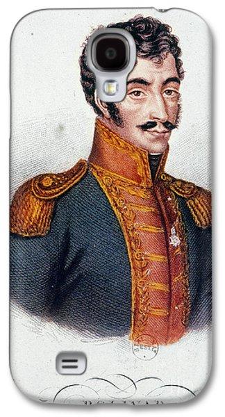 Sideburns Galaxy S4 Cases - Simon Bolivar (1783-1830) Galaxy S4 Case by Granger