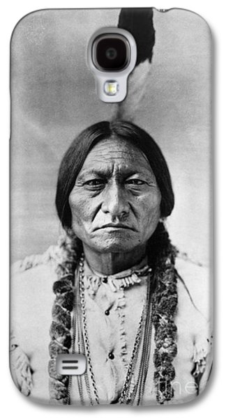 Leaders Galaxy S4 Cases - Sitting Bull (1834-1890) Galaxy S4 Case by Granger
