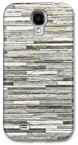 Stone Tiles Galaxy S4 Case by Tom Gowanlock