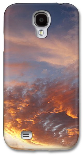 Sunset Abstract Galaxy S4 Cases - Summer sky Galaxy S4 Case by Les Cunliffe