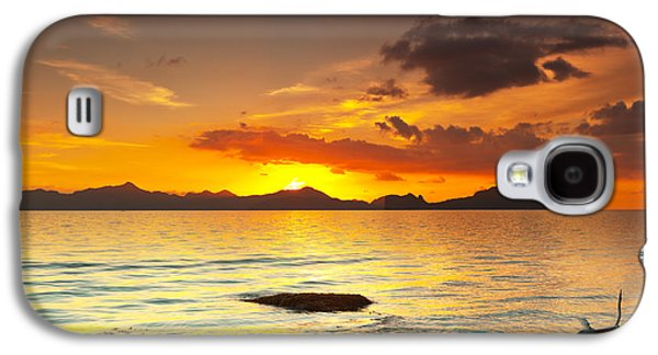 Tree Roots Galaxy S4 Cases - Sunset Galaxy S4 Case by MotHaiBaPhoto Prints
