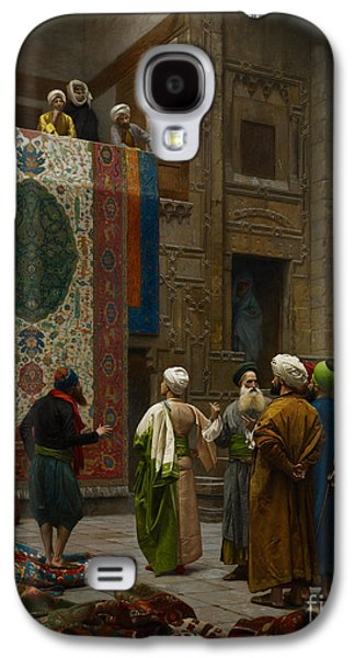 The Carpet Merchant Galaxy S4 Case by Celestial Images