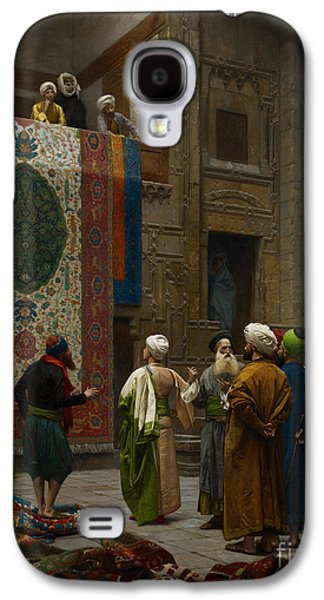 Persian Carpet Galaxy S4 Cases - The Carpet Merchant Galaxy S4 Case by Celestial Images