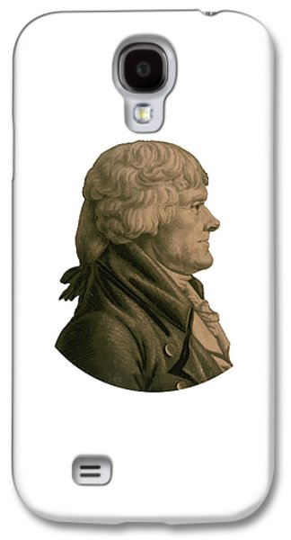 Politician Galaxy S4 Cases - Thomas Jefferson Galaxy S4 Case by War Is Hell Store