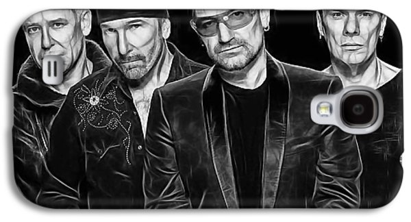 Bono Galaxy S4 Cases - U2 Collection Galaxy S4 Case by Marvin Blaine