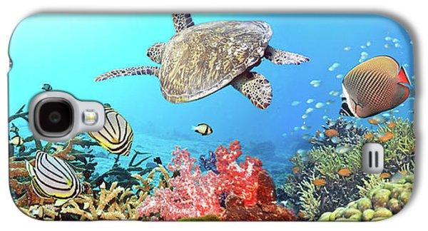 Underwater Panorama Galaxy S4 Case by MotHaiBaPhoto Prints