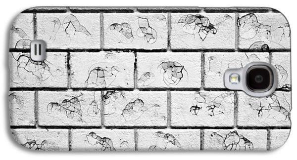 Stonewall Galaxy S4 Cases - White brick wall Galaxy S4 Case by Tom Gowanlock