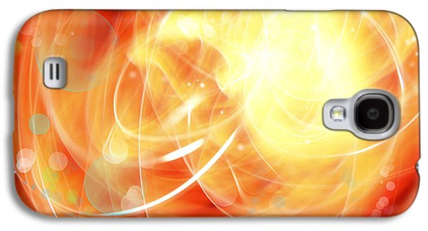 Special Effects Galaxy S4 Cases - Abstract background Galaxy S4 Case by Les Cunliffe