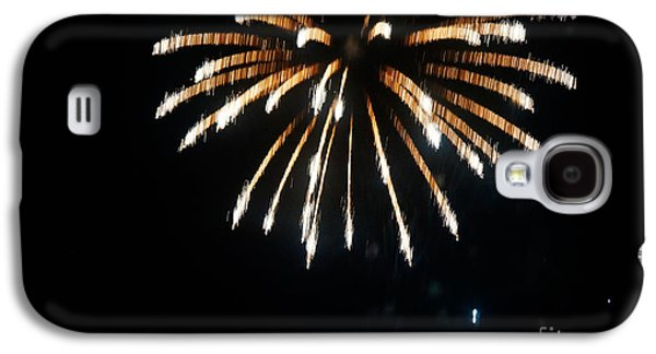 4th July Paintings Galaxy S4 Cases - 4th of July Fireworks Galaxy S4 Case by Celestial Images
