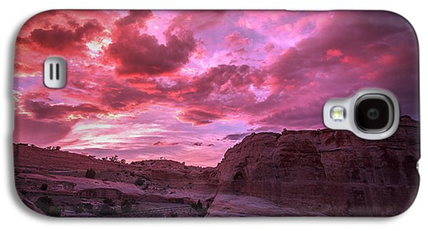 Recently Sold -  - 4th July Galaxy S4 Cases - 4th of July Sunset Galaxy S4 Case by Derrick  Snider