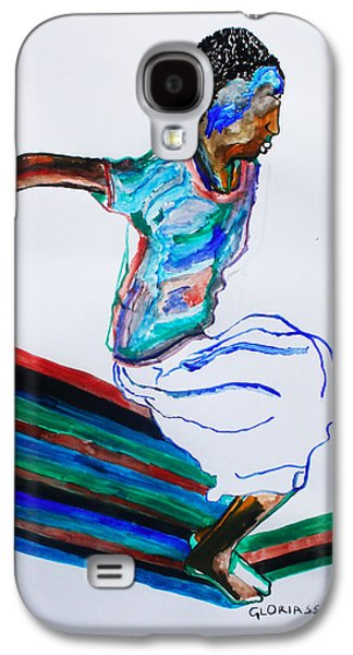 Ancient Galaxy S4 Cases - Bakiga Dance - Uganda Galaxy S4 Case by Gloria Ssali