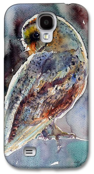 Barn Owl Galaxy S4 Case by Kovacs Anna Brigitta