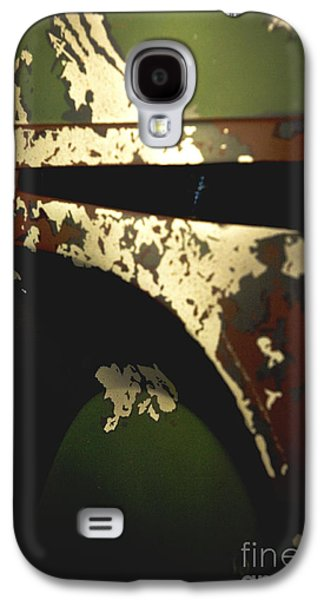 Uniform Galaxy S4 Cases - Boba Fett Helmet Galaxy S4 Case by Micah May