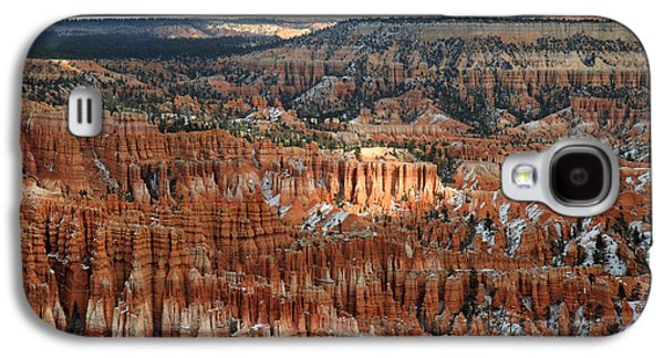 Colum Galaxy S4 Cases - Bryce Canyon National park Galaxy S4 Case by Pierre Leclerc Photography