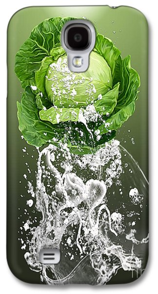 Cabbage Splash Galaxy S4 Case by Marvin Blaine