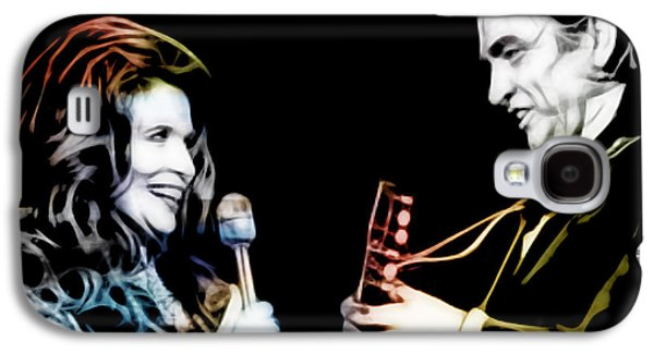 June Carter And Johnny Cash Collection Galaxy S4 Case by Marvin Blaine