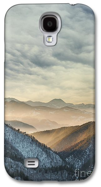 Light Pyrography Galaxy S4 Cases - Landscape Galaxy S4 Case by Jelena Jovanovic