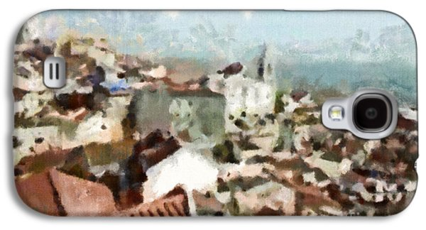 Portuguese Mixed Media Galaxy S4 Cases - Lisbon Galaxy S4 Case by Dariusz Gudowicz