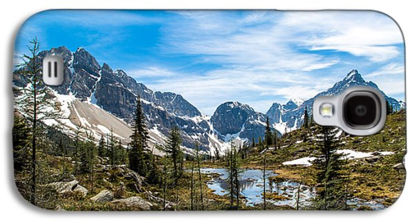 Canadian Pyrography Galaxy S4 Cases - Mountains #5 Galaxy S4 Case by Olga Photography