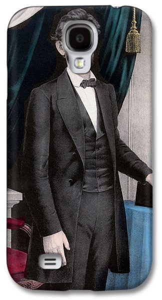 Proclamation Galaxy S4 Cases - President Abraham Lincoln Galaxy S4 Case by War Is Hell Store