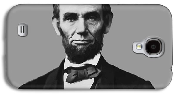 America Mixed Media Galaxy S4 Cases - President Lincoln Galaxy S4 Case by War Is Hell Store
