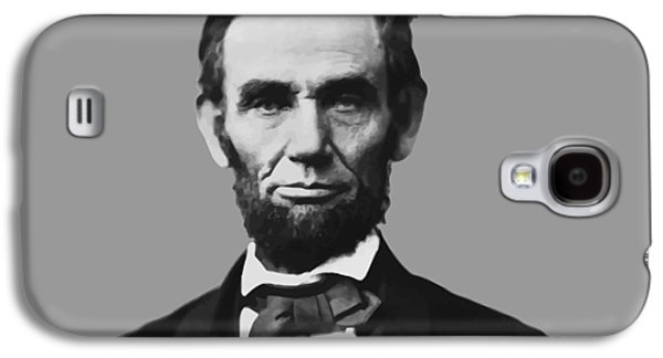 Abraham Lincoln Galaxy S4 Cases - President Lincoln Galaxy S4 Case by War Is Hell Store