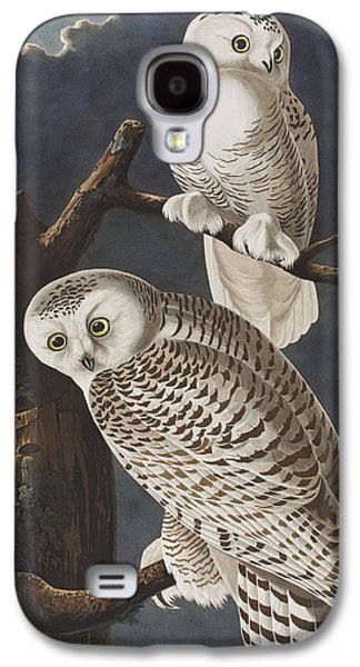 Snowy Owl Galaxy S4 Case by John James Audubon