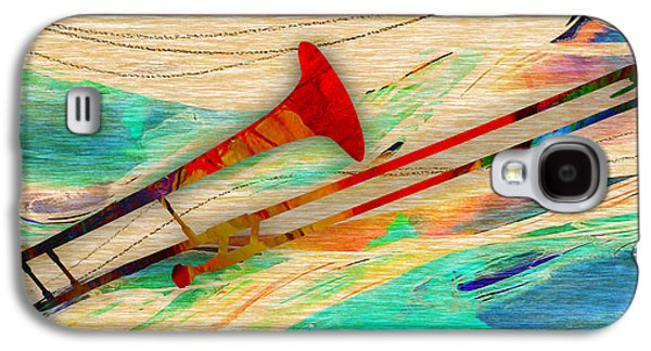 Trombone Collection Galaxy S4 Case by Marvin Blaine