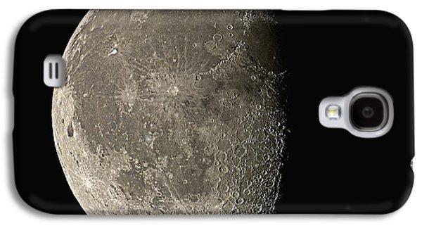Waning Gibbous Moon Galaxy S4 Case by Eckhard Slawik
