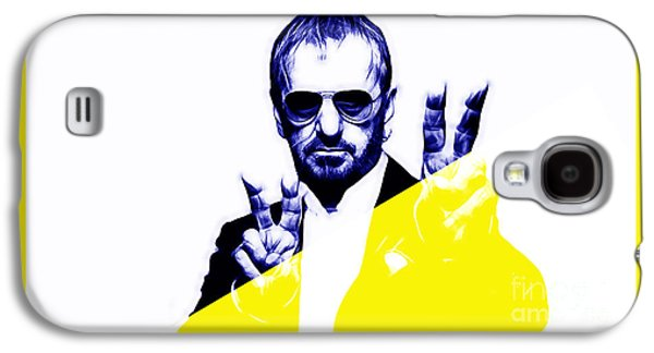 Starr Galaxy S4 Cases - Ringo Starr Collection Galaxy S4 Case by Marvin Blaine