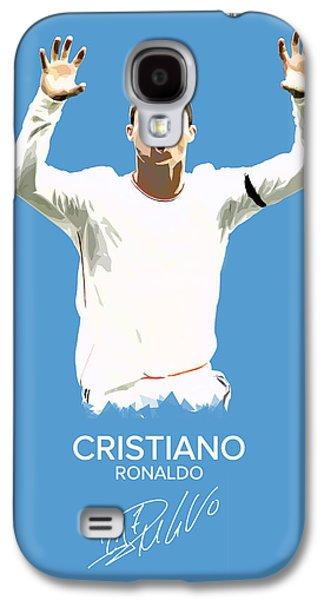 Cristiano Ronaldo Galaxy S4 Case by Semih Yurdabak