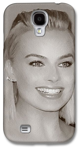 Hollywood Star Margot Robbie Galaxy S4 Case by Best Actors