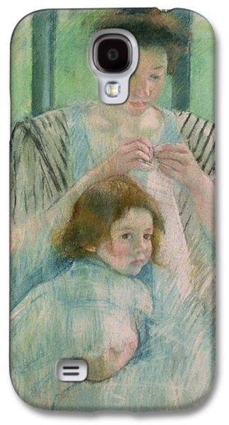 Mother And Child Galaxy S4 Case by Mary Stevenson Cassatt