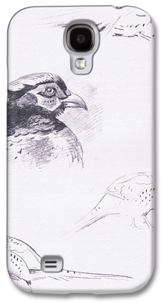 Pheasants Galaxy S4 Case by Archibald Thorburn