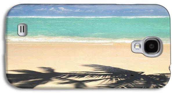 Tropical Beach Galaxy S4 Case by Elena Elisseeva
